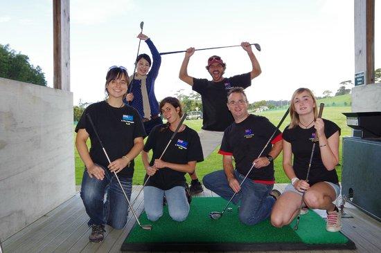 A Kiwi Farmstay : The range - Golf