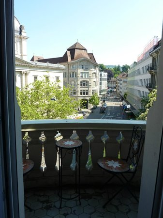 Small Luxury Hotel Ambassador a l'Opera: Our balcony and view