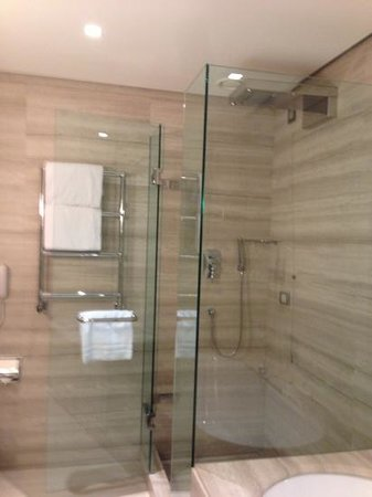 Hotel Cavour : executive bathroom