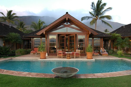 Ho'oilo House: Pool area