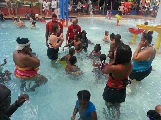 Coco Key Hotel and Water Park Resort: Summer Camp...having a blast!!!