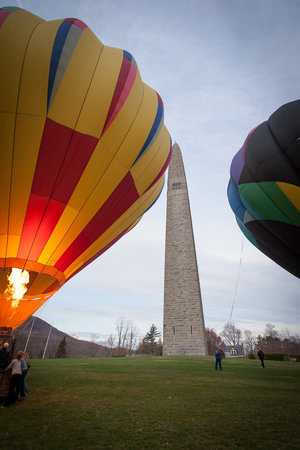 Shaftsbury, VT: Hot Air Balloons in Bennington, Vermont