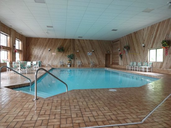 Mt. Olympus Resort: Indoor pool.