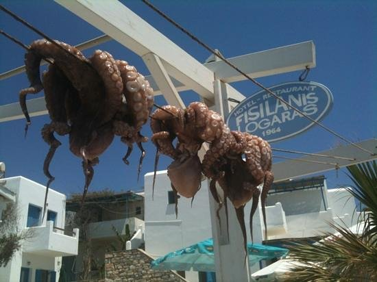 Fisilanis Restaurant: Fisilanis, Logaras Beach