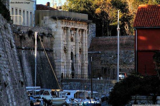 Zadar City Gate: LAND GATE