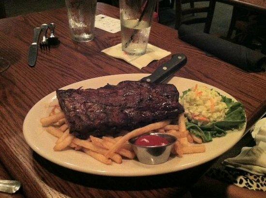Sam Snead's Oak Grill and Tavern : Rib Dinner