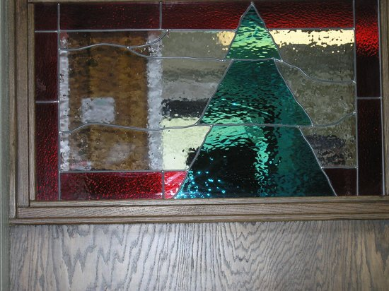 Pinewood Bar & Grill: Inside window