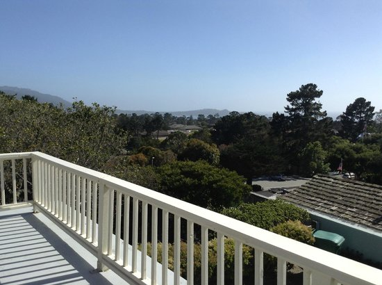 BEST WESTERN PLUS Carmel Bay View Inn: View from the deck of room 46.