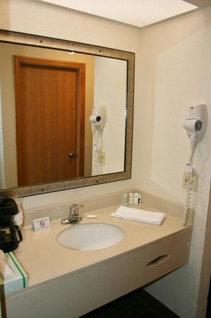 Quality Inn & Suites: Sink area