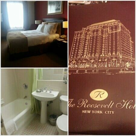 The Roosevelt Hotel: small room,  lumpy bed, enough said