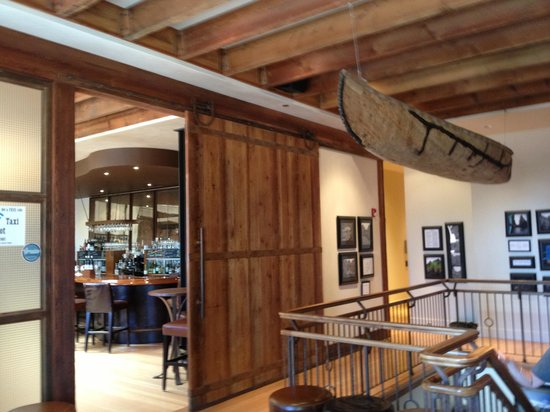 Coldwater Creek Wine Bar : Main Entry Above Cold Water