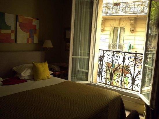 Hotel Sainte Beuve: room 3 window