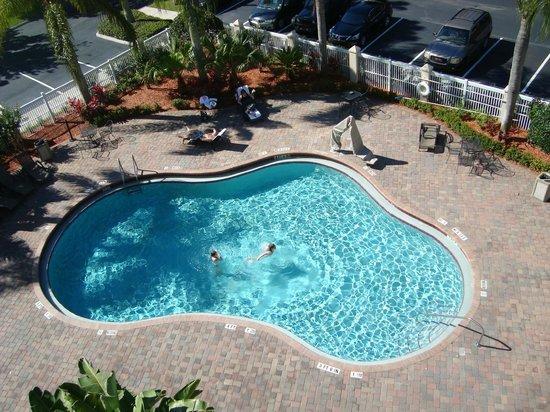 Hampton Inn Orlando/Lake Buena Vista: Piscina