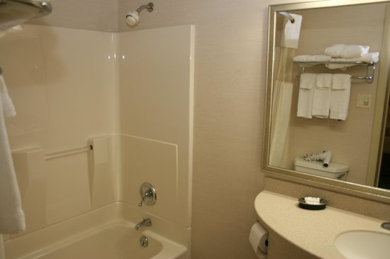 BEST WESTERN Inn & Conference Center: Bathroom
