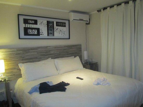 Agustina Suite: O quarto, ok, mas o banheiro era pequeno.