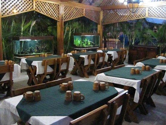 La Fortaleza: Dining area
