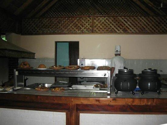 La Fortaleza: BBQ pit