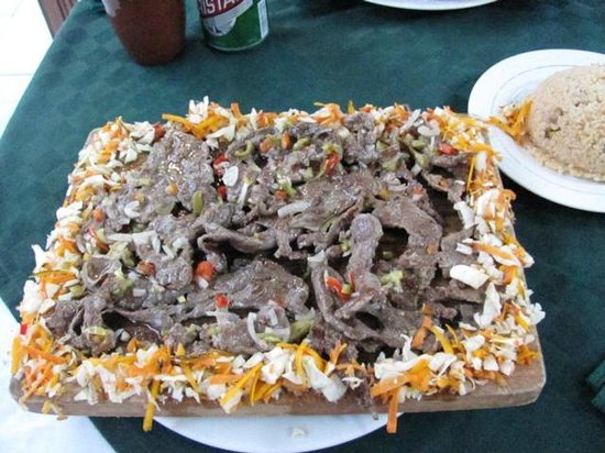 La Fortaleza: plato bistec