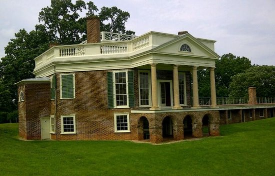 Thomas Jefferson's Poplar Forest: Poplar Forest, June 2013