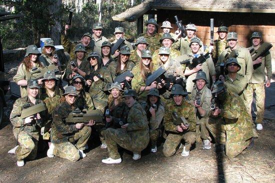 Tas Laser Skirmish: Team Building