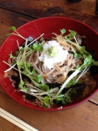 Miyawaka, Japan: おろし蕎麦