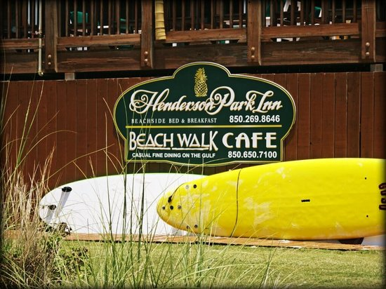 Henderson Park Inn: From the beach