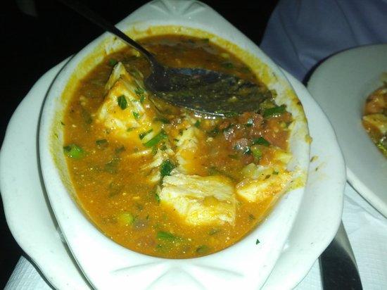 Via Brasil Restaurant : Moquecas with pollock