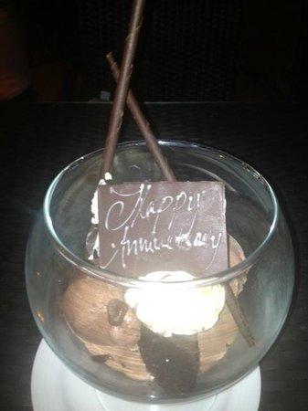 Ocean Club Restaurant: Happy Anniversary  !