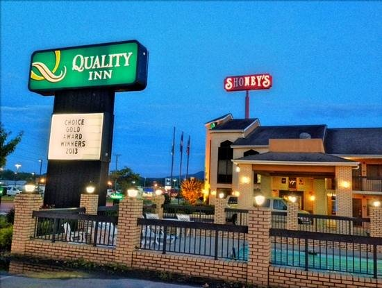 Quality Inn : Add a caption