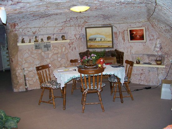 Faye's Underground Home: Dining Room
