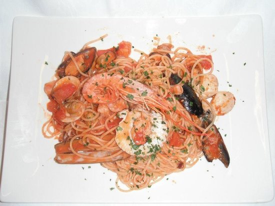 La Cupola Ristorante Pizzeria: Spaghetti allo scoglio