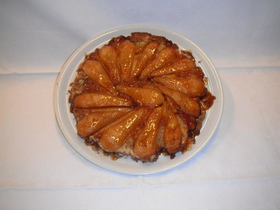 La Cupola Ristorante Pizzeria: Tarte tatin di pere caramellate