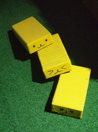 Yellow Brick Hostel : ホステルのキャラ!?