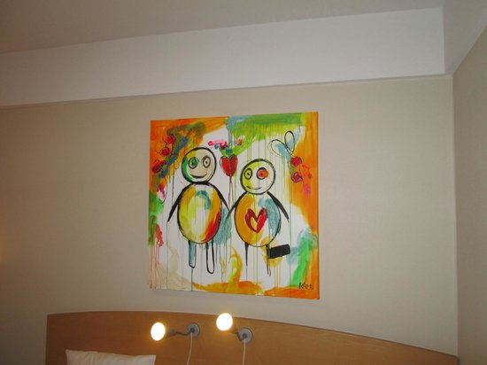 Copenhagen Mercur Hotel: Artwork
