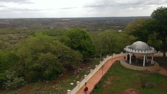 APTDC Ananthagiri, Vikarabad: View from Rooftop