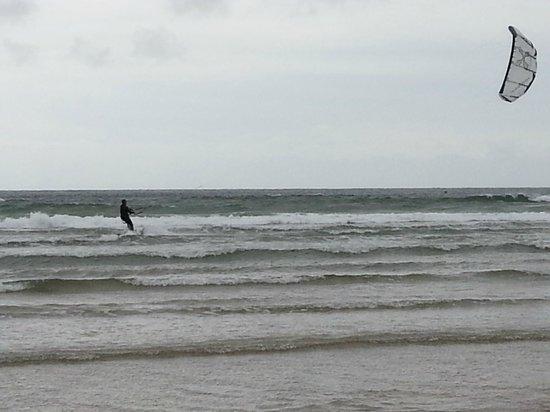 Memphis jet : kite surf à hendaye !