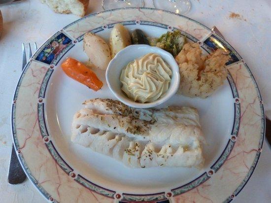 La Martiniere : Aïoli de Cabillaud et ses Légumes