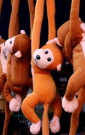 Gaya Street Sunday Market: Plush toys...
