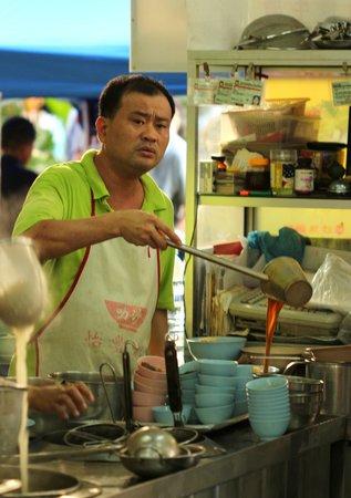 Gaya Street Sunday Market: Food vendor at Yee Fong