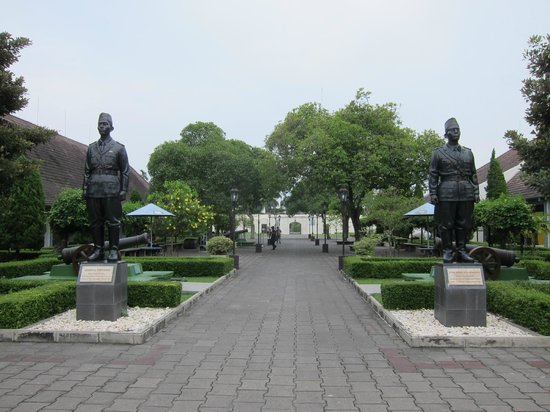 Yogyakarta Fortress Museum: Should turn it into a war museum - Fort Vredeburg Yogyakarta
