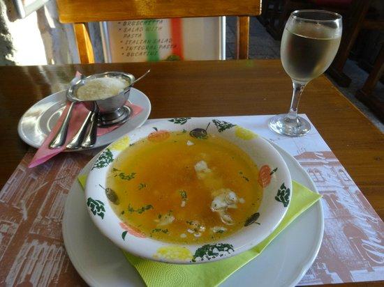 Spaghetteria Toni: fish soup