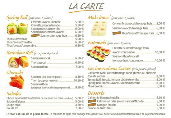Restaurant Calvi Tripadvisor