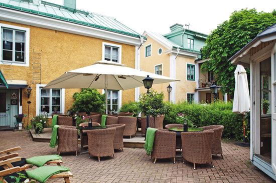 Trosa Stadshotell & Spa: uteservering