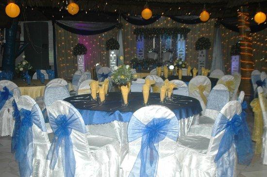 Jangwani Seabreeze Resort: wedding dinner