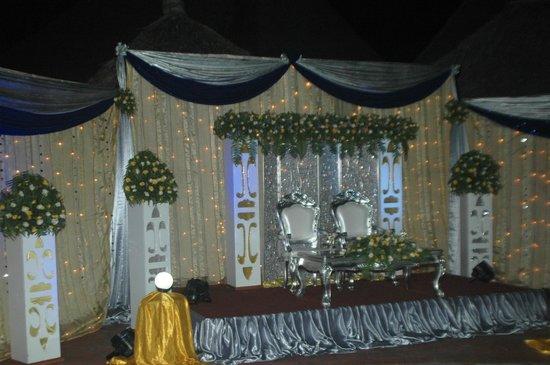 Jangwani Seabreeze Resort: stage