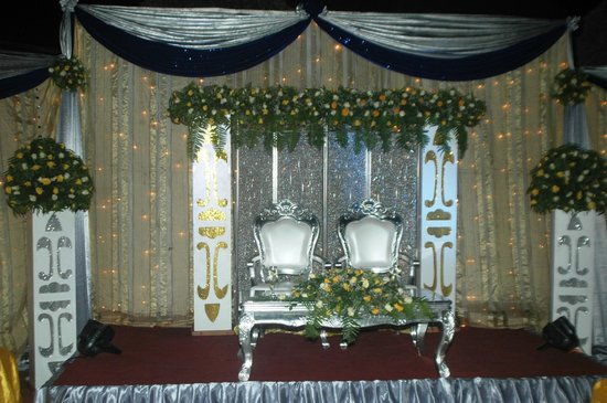 Jangwani Seabreeze Resort: wedding set up