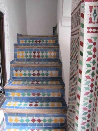 Algila Fes: stairs