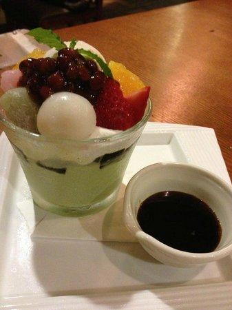 Tori no mai: the dessert was good!