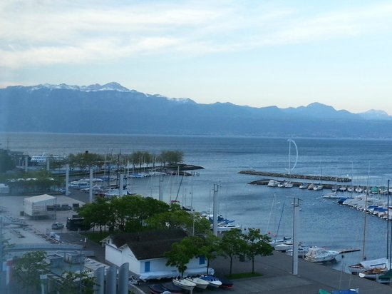 Movenpick Hotel Lausanne: View from the room
