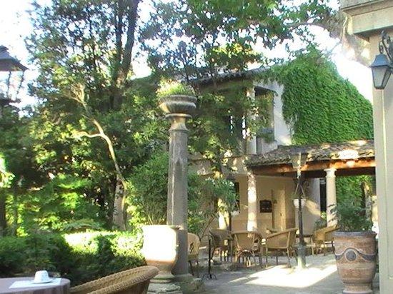 Najeti Hotel la Magnaneraie: View from restaurant